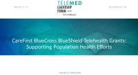 CareFirst's Telehealth Grants: Supporting Population Health Efforts
