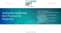 Telehealth Leadership: Best Practices for Physicians