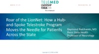 Roar of the LionNet: How a Hub-and-Spoke Telestroke Program Moves the Needle for Patients Across the State